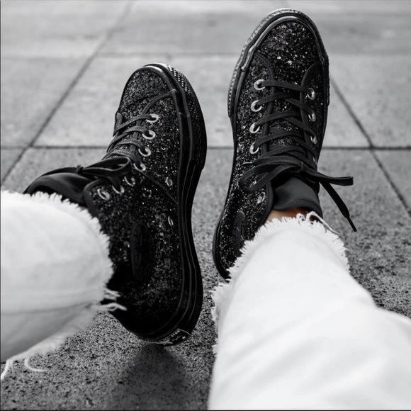 After Party Glitter High Tops